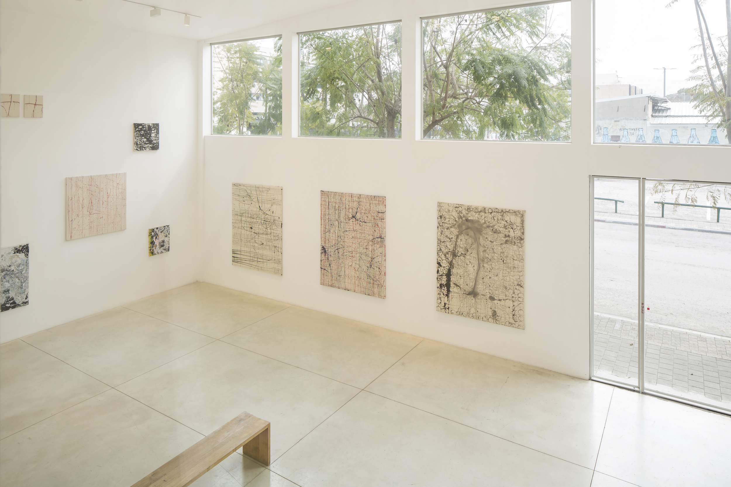 Smadar Eliasaf // A Touch of Air Installation View
