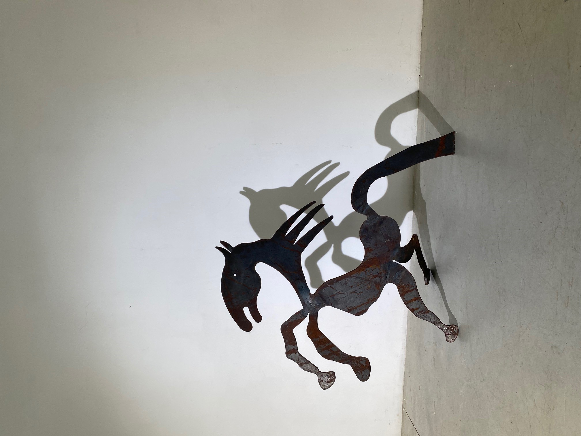 Menashe Kadishman, Horse