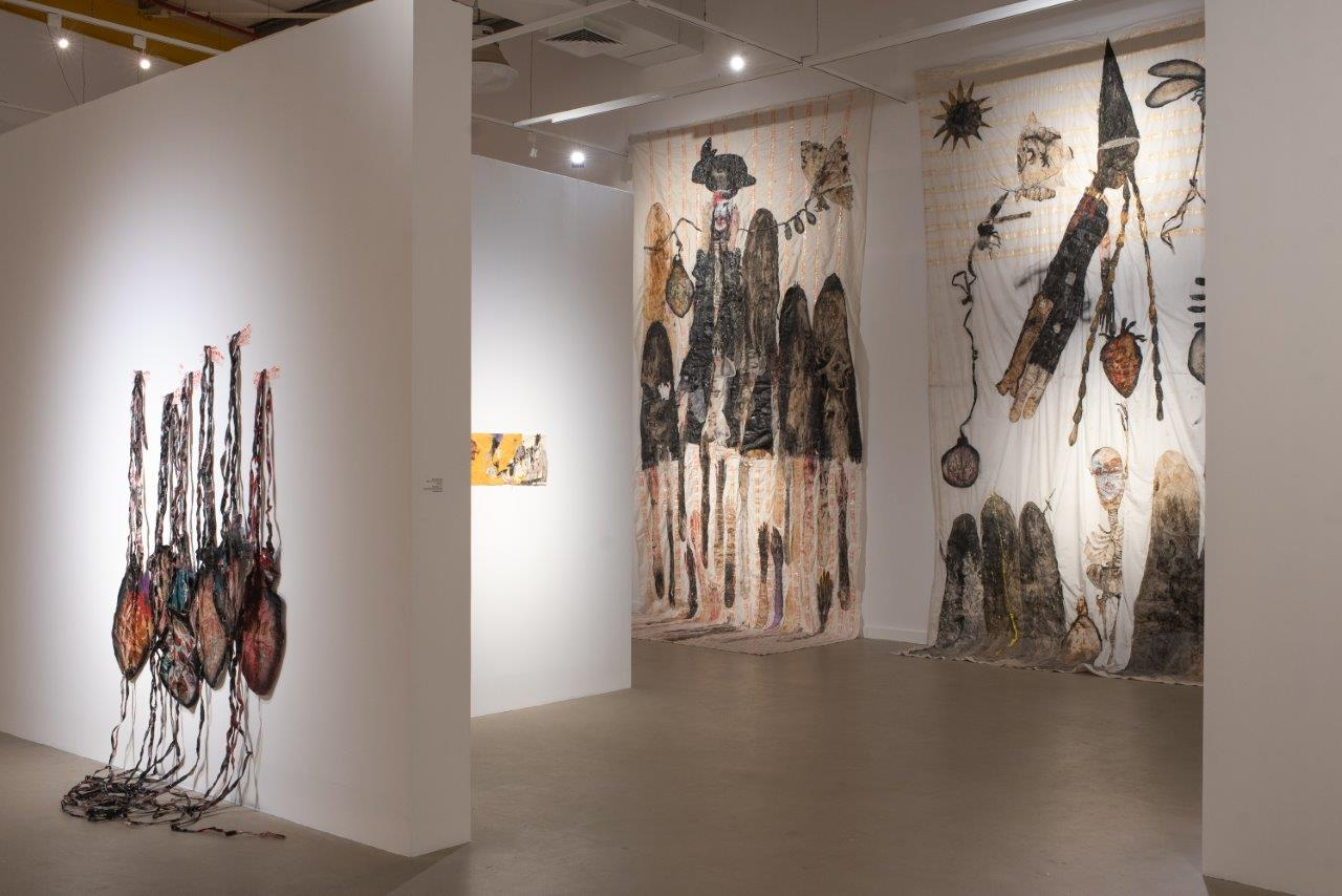 Ruthi Helbitz Cohen, Beloved exhibition view at Tefen Open Musuem