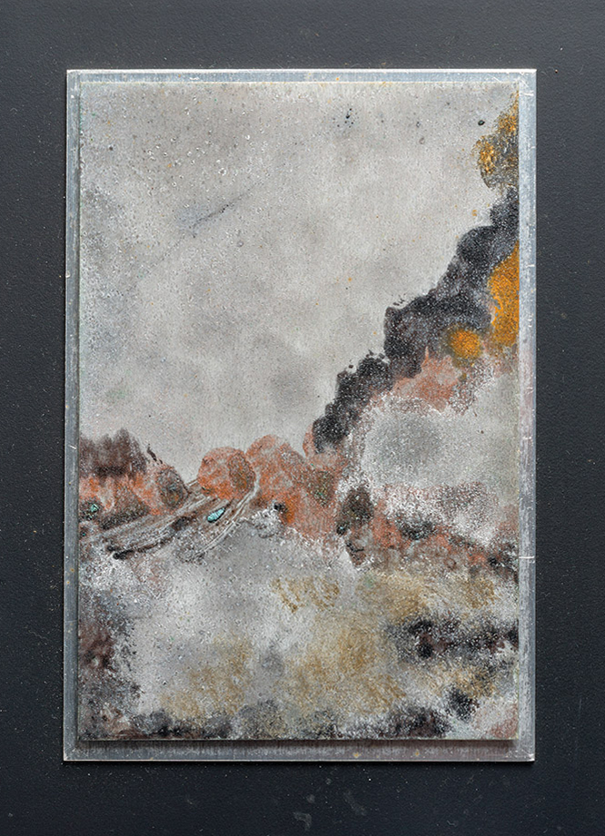 "Dina Recanati / From the ""Cosmos"" series, no. II"