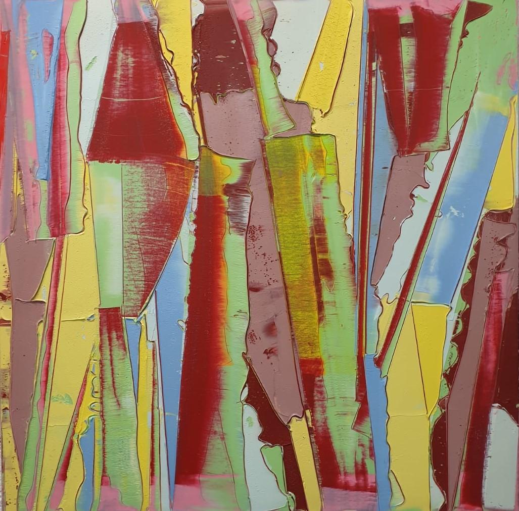 Gilad efrat, Untitled, 2020, oil on canvas, 80x80