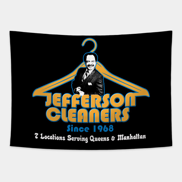 Jefferson Cleaners logo - from the hit show The Jeffersons