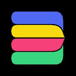 Rake color icon