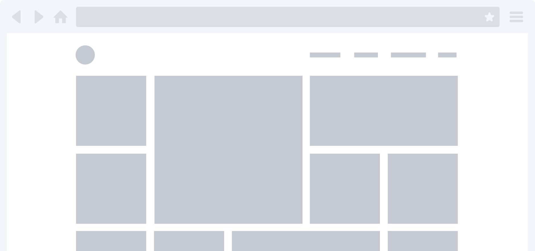 A mock up of a blank Rake screen