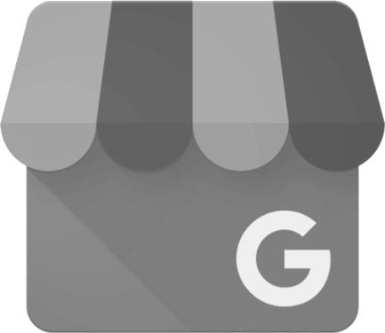 Google My Business gray logo