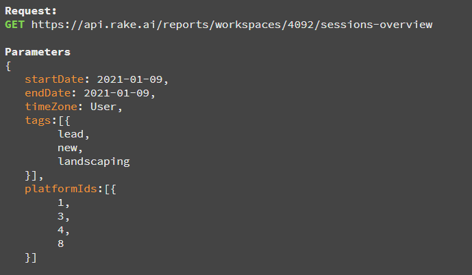 API html text