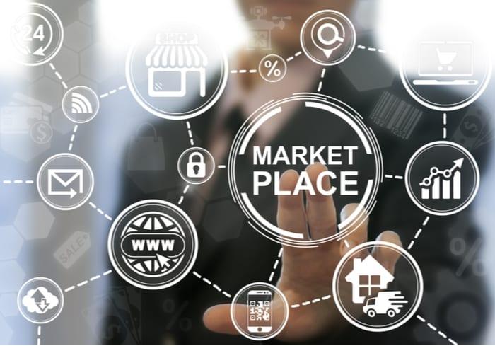 online marketplace card image