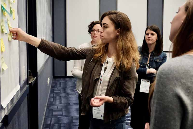 content strategy workshop group