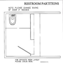 Partition Alcove 1 Plans