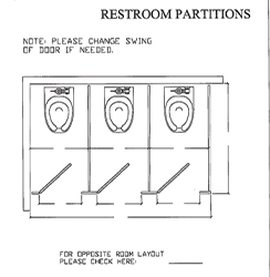Partition Corner Mount 3 Plans