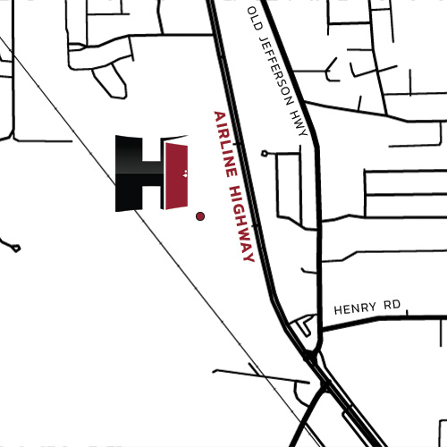 Map of Himmel's Prairieville Location