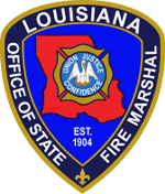 Louisiana Fire Marshall Logo