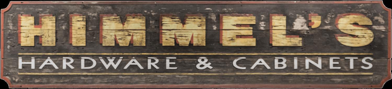 Himmel's old wooden sign