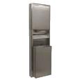 Paper Towel Dispenser and Receptacle