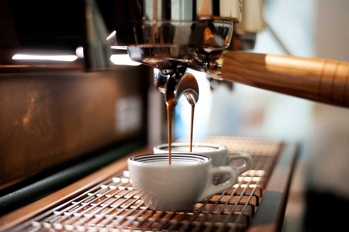 Frisch geröstet für perfekten Kaffeegenuss.