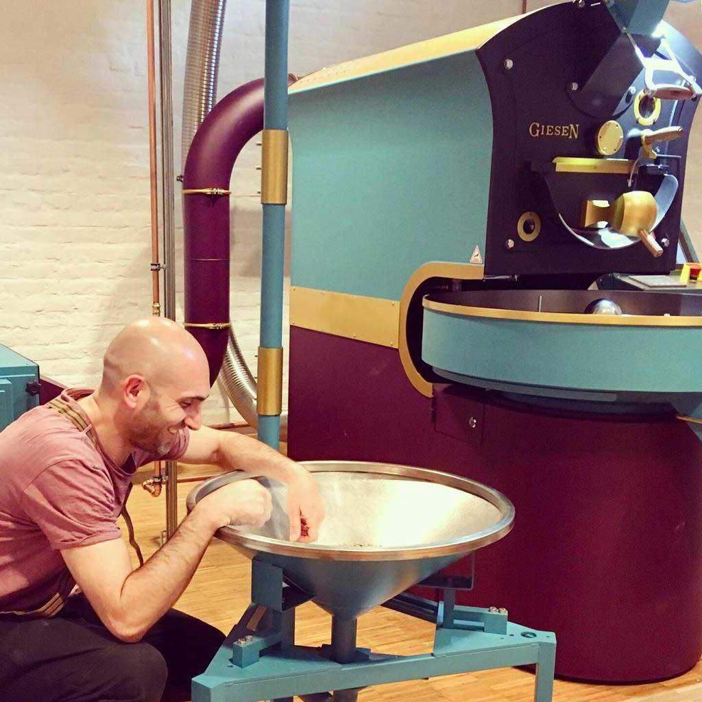 Die Kaffeerösterei aus Mainz.