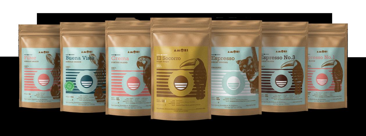AMORI Coffee - die Creme de la Crema