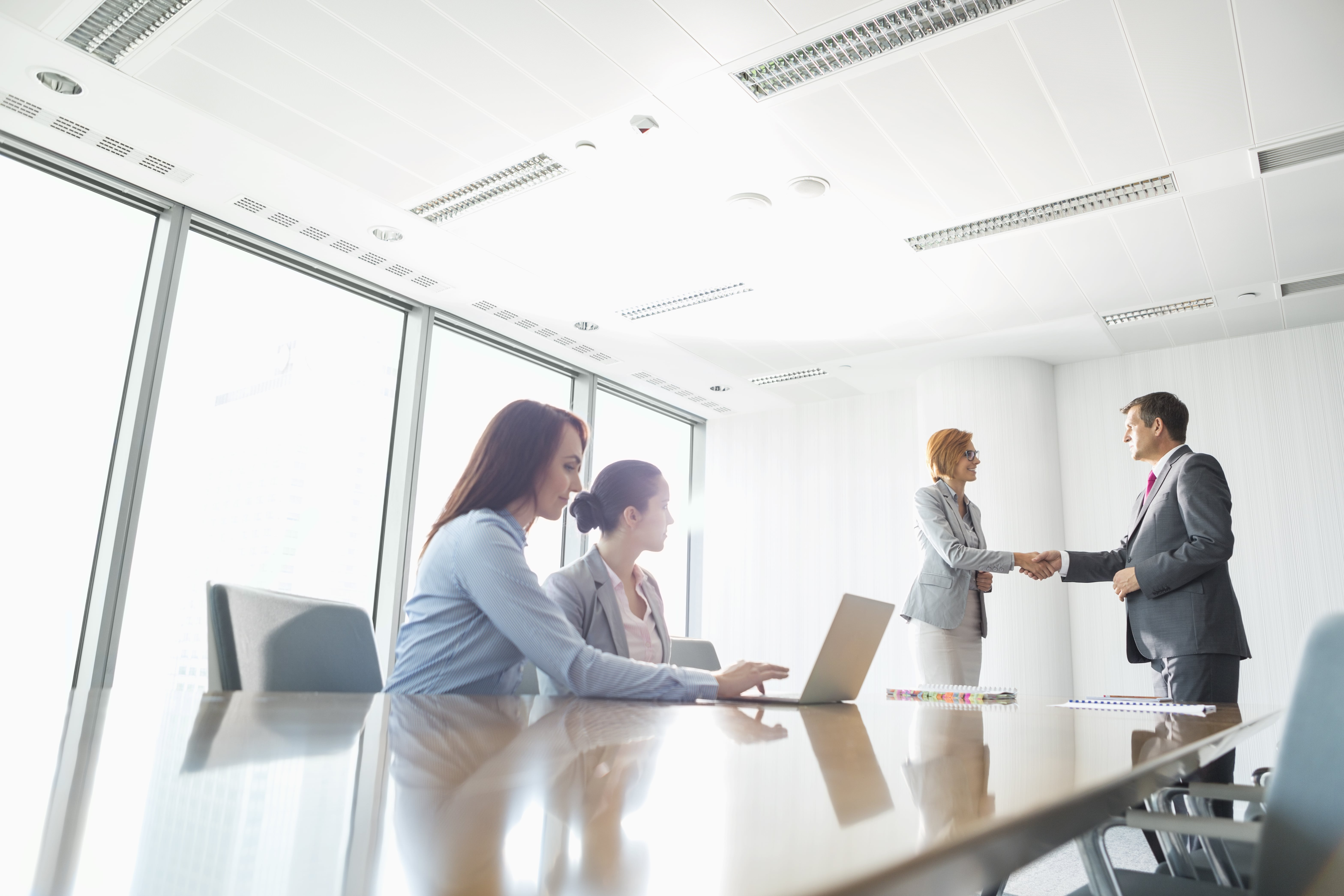 image of a boardroom meeting