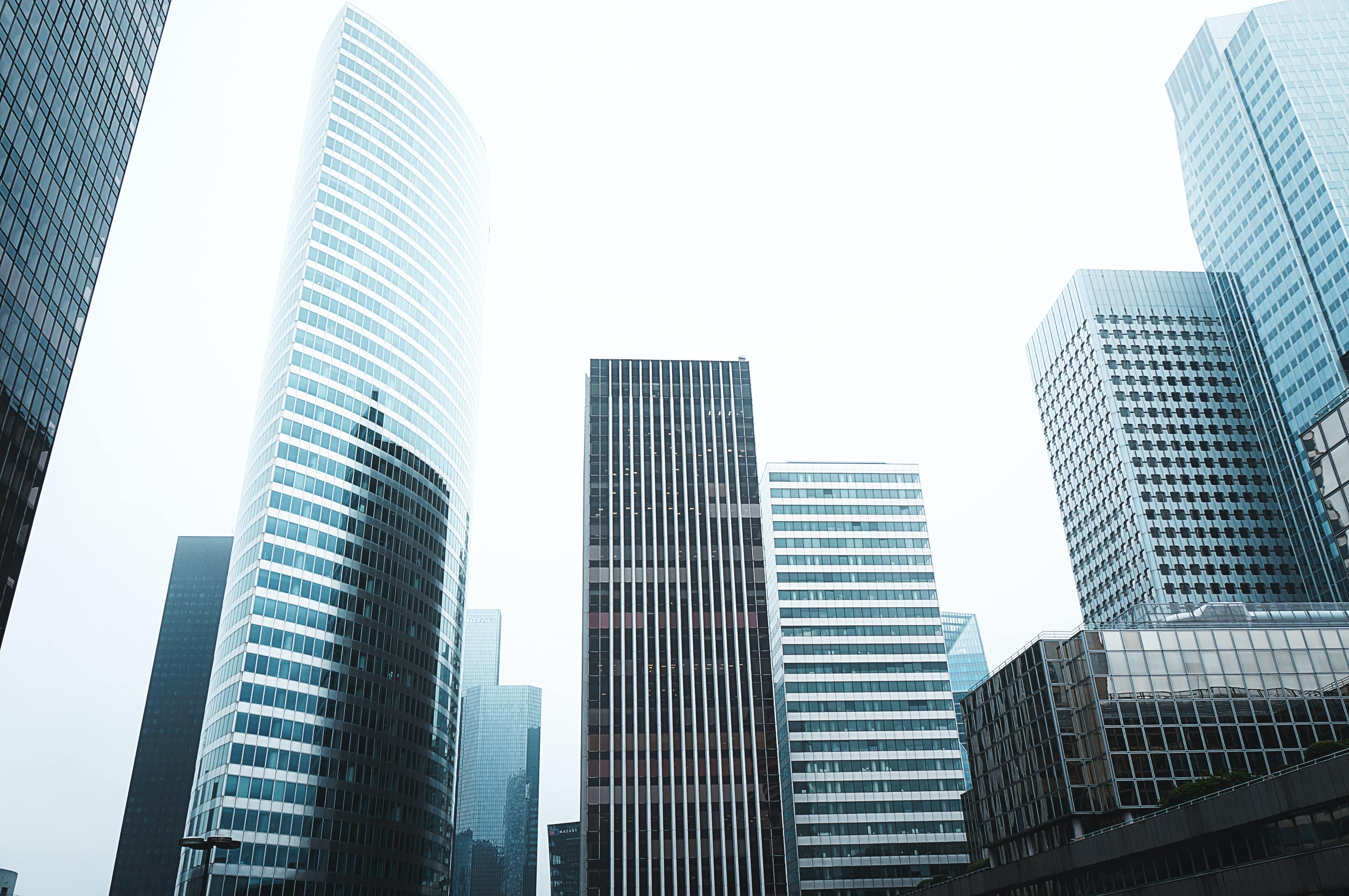 image of buildings against a skyline
