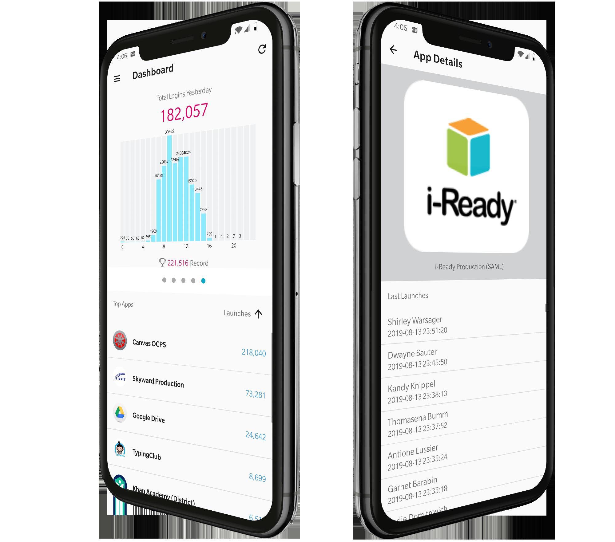 Analytics Mobile Mockup