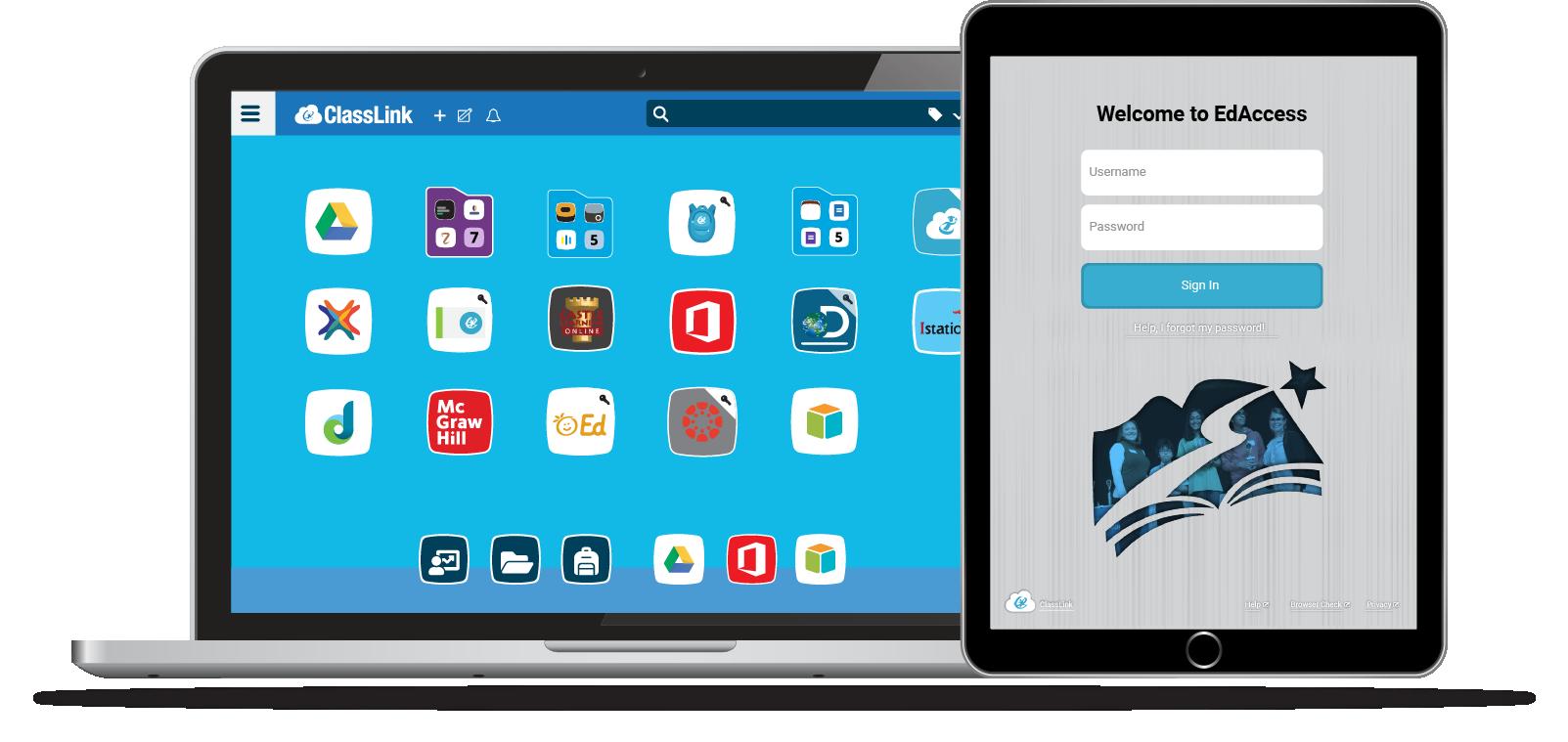 EdAccess Device Mockup