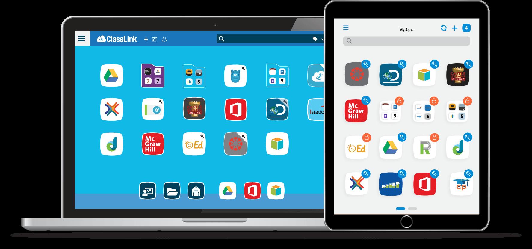 LaunchPad Desktop + Tablet Mockups