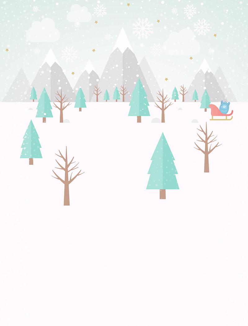 Winter - Login Screen