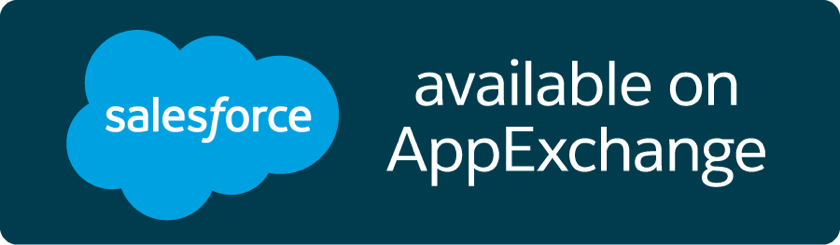 Salesforce: Available on AppExchange