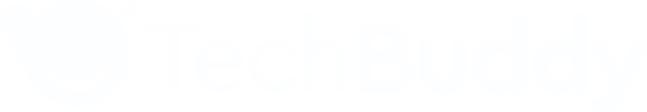 TechBuddy Logotyp Blå Rosa