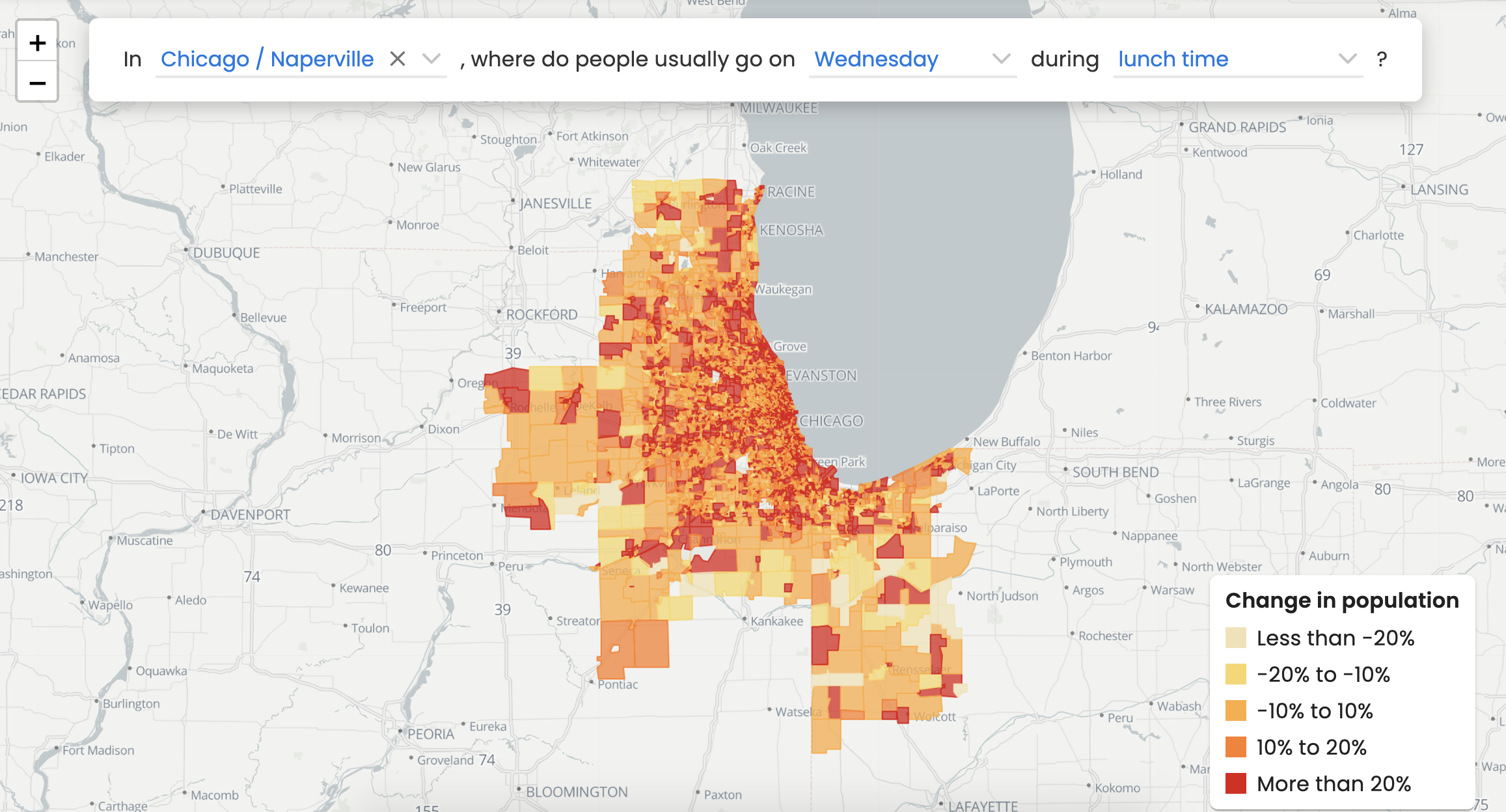 SafeGraph's Neighborhood Patterns data provides anonymized mobility data at the CBG level, making it easy to join to census demographics.