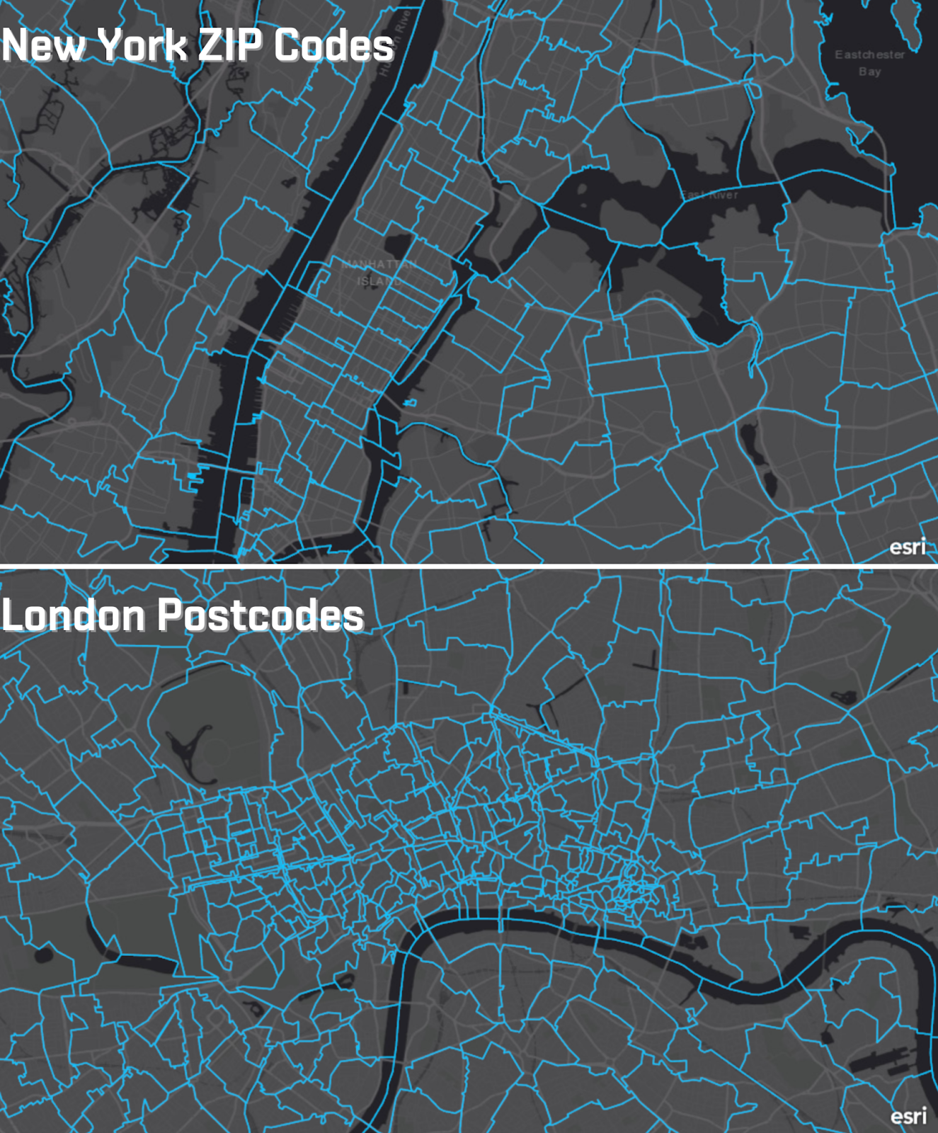 SafeGraph provides geospatial data in the US, UK, and Canada.