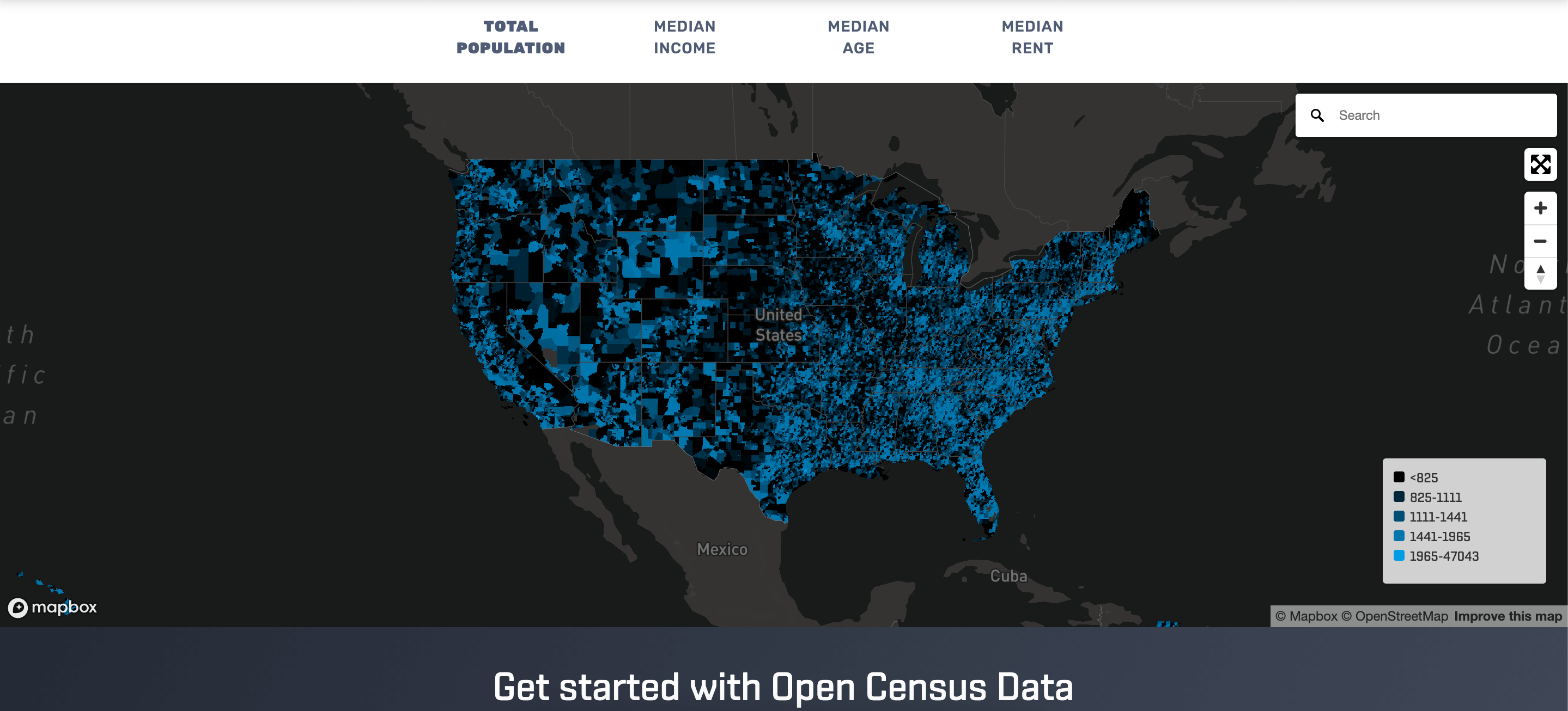 Open Census Data Update: Now Including ACS Data From 2016-2019