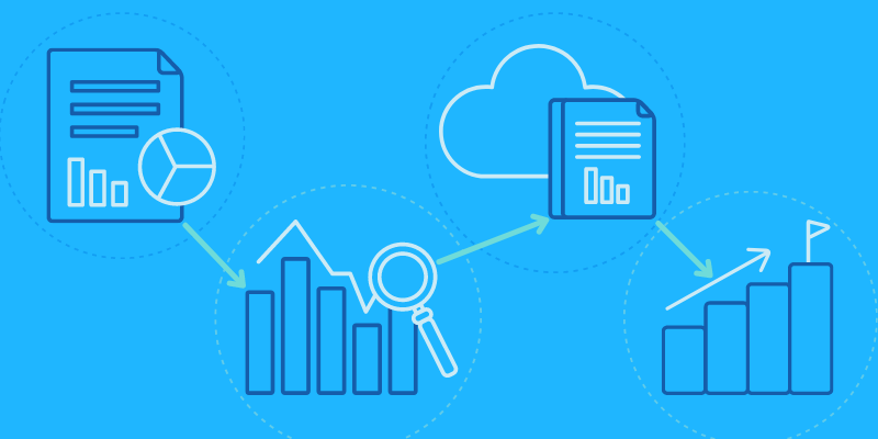 Analyze individual and collective store performance using key metrics