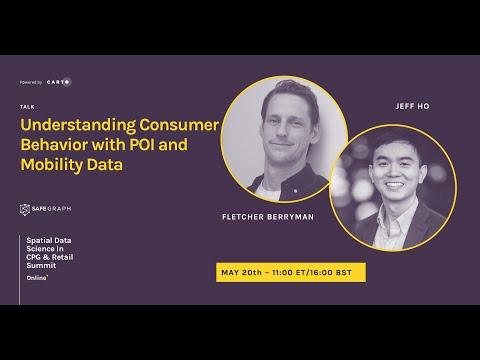 Understand Consumer Behavior with POI and Mobility Data