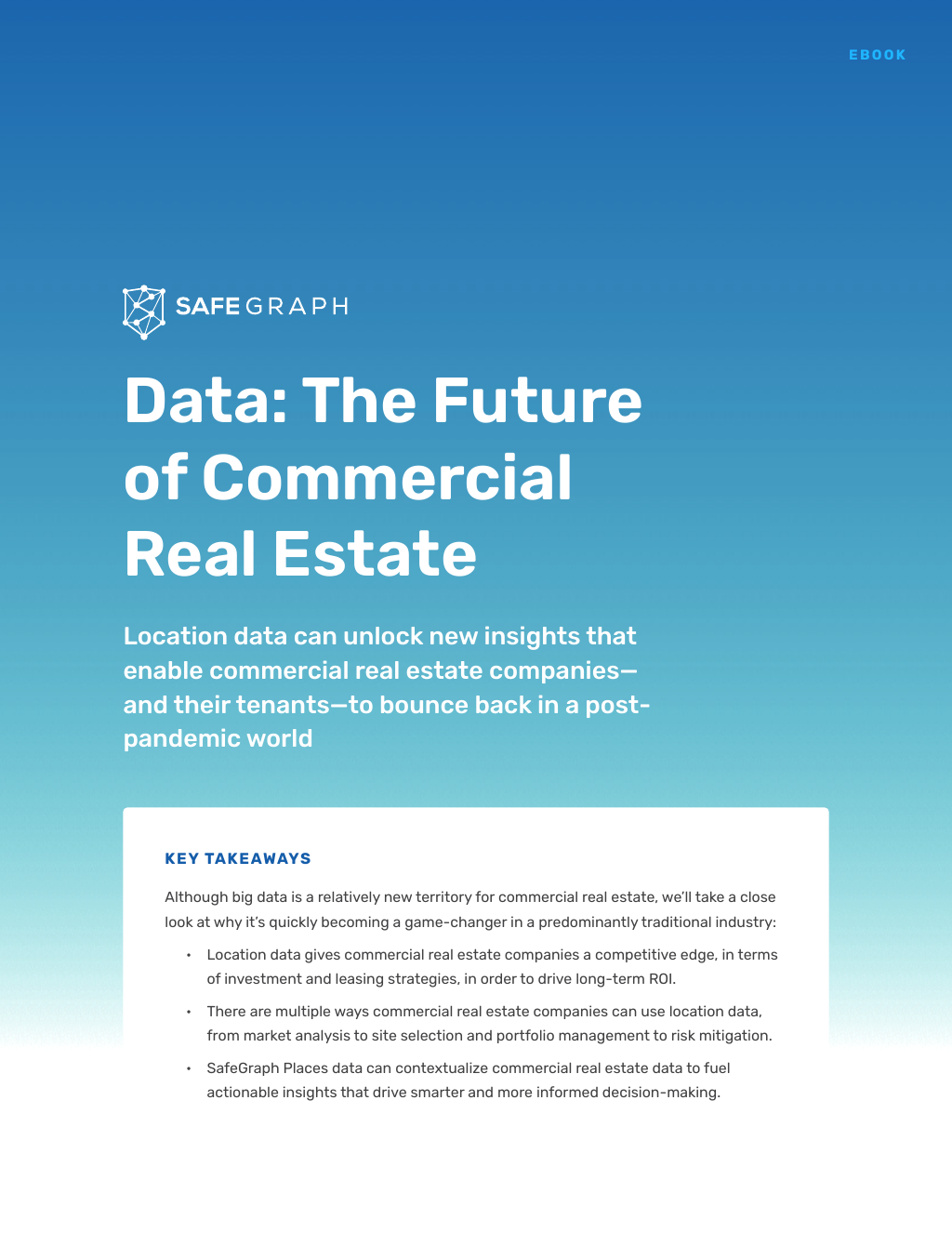 Data: The Future of Commercial Real Estate