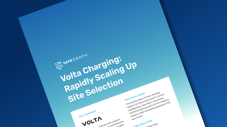 Volta Charging: Rapidly Scaling Up Site-Selection