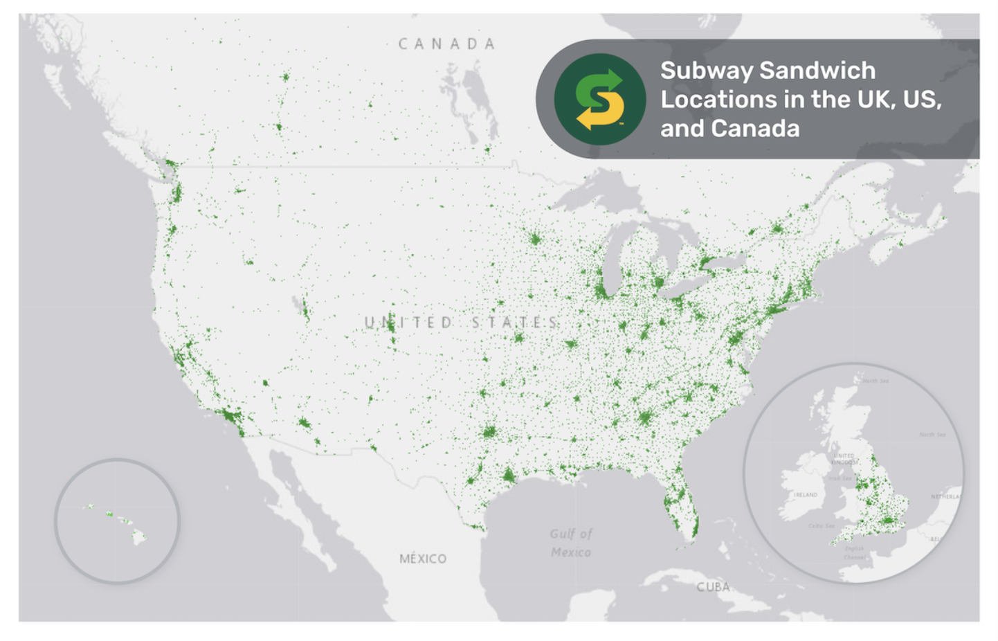 What's in the Subway Essentials dataset?