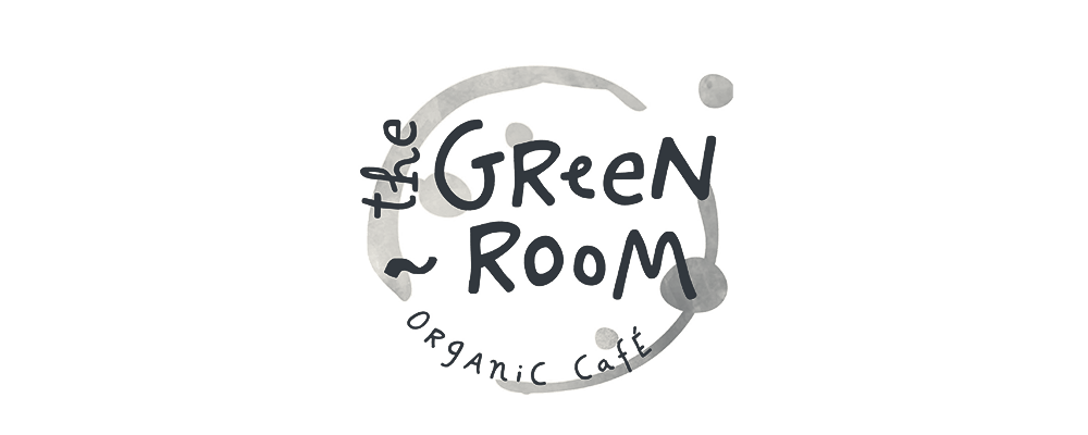 The Green Room on high street cafe logo