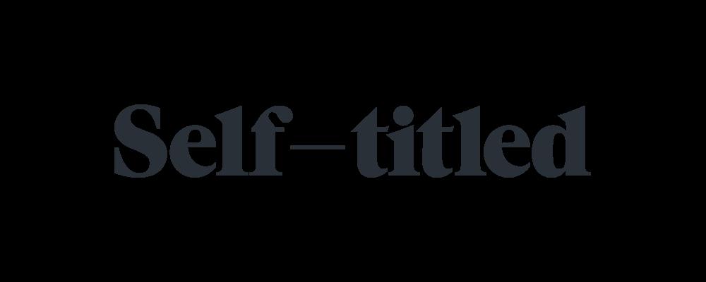 Selt—Titled logo