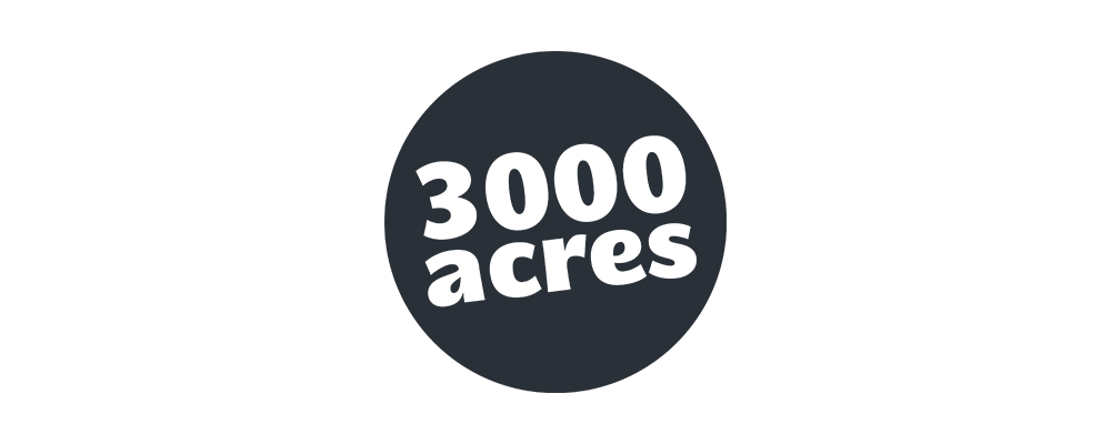 3000 Acres logo