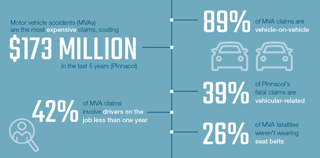 Motor vehicle accident stats