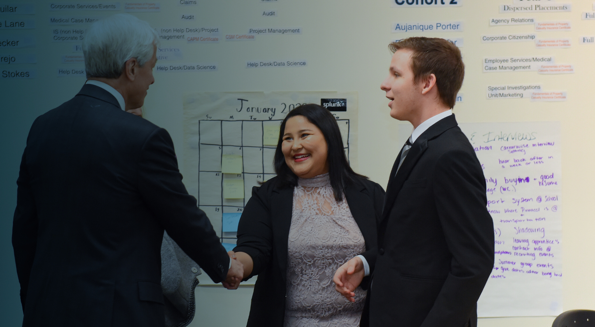 Video: Pinnacol showcases innovative apprenticeship program for dignitaries, leaders and JPMorgan Chase executives