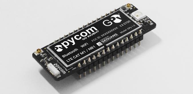 Pycom GPy Hologram SIM M2M