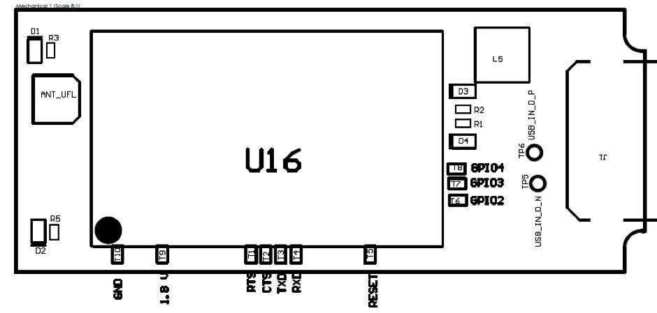 UART Pad Diagram
