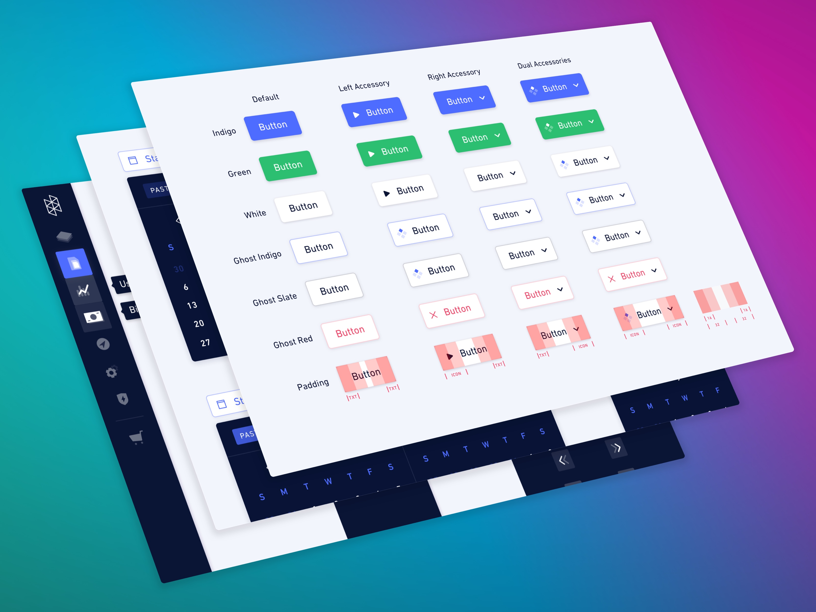 Hologram's Stellar Design System preview