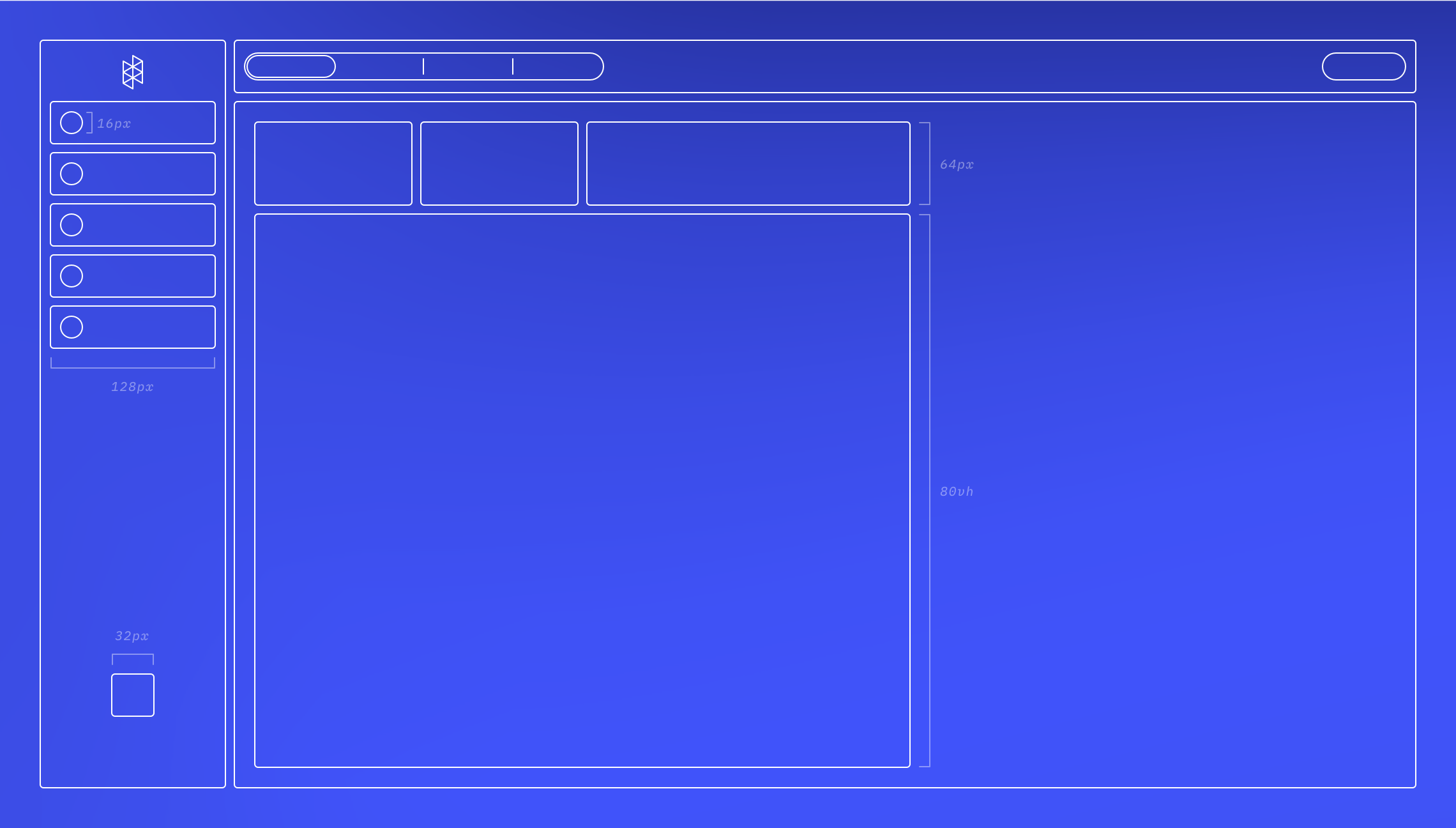 Blueprint of the Hologram Dashboard
