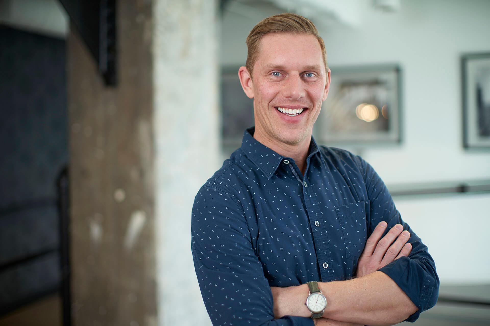 Kevin Baumgart, Hologram's VP of Sales