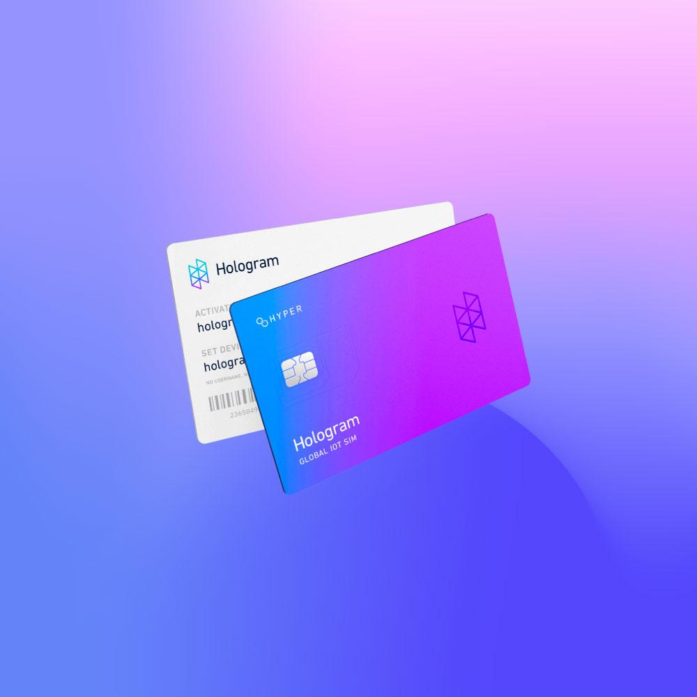 Hologram Hyper SIM Cards