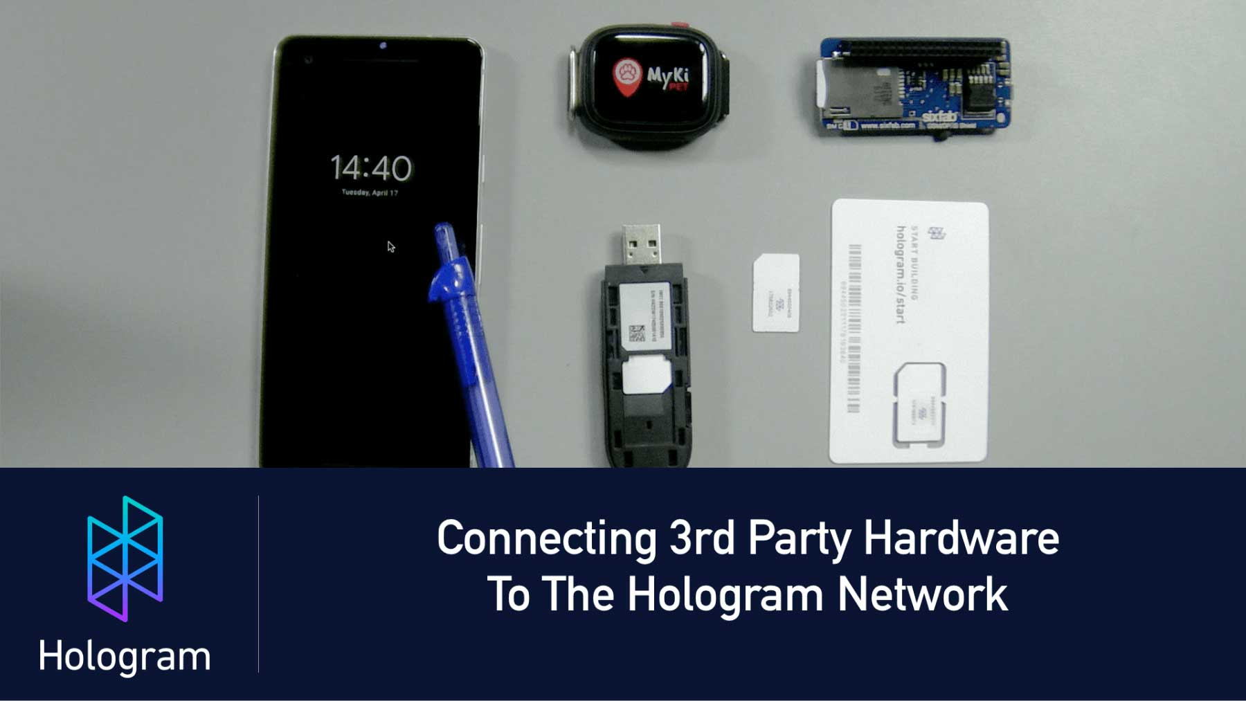 How to Connect Third Party Hardware to Hologram Network