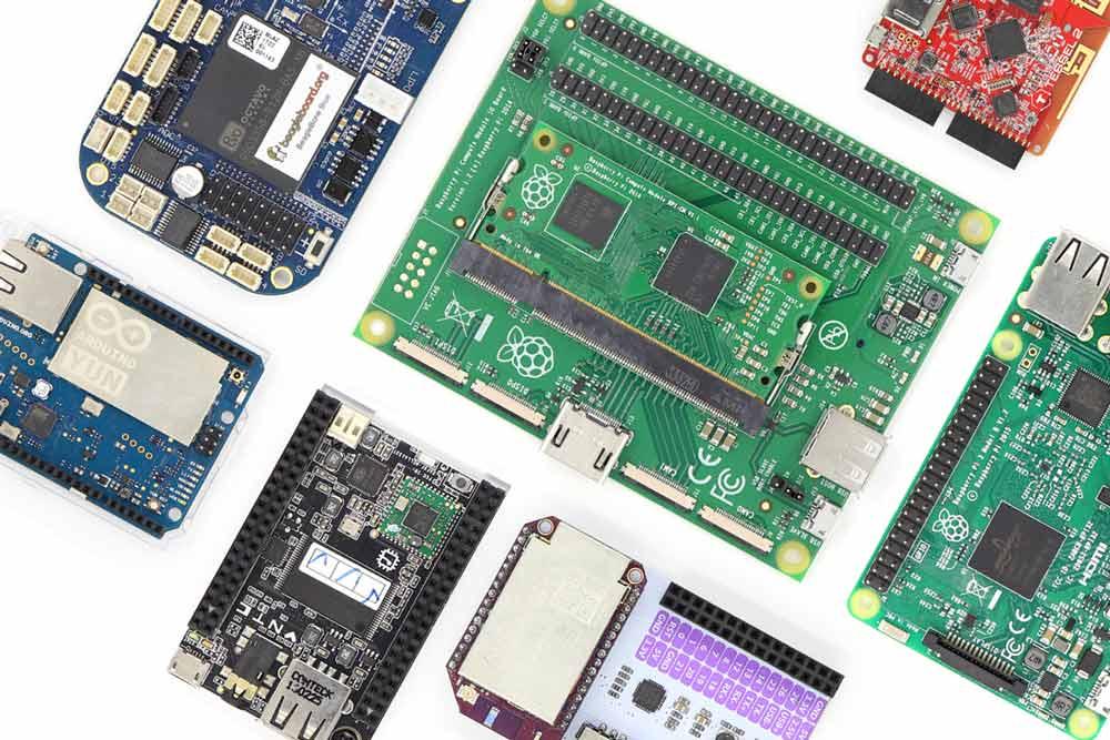circuit boards microchips